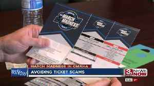 News video: How to avoid March Madness ticket scams