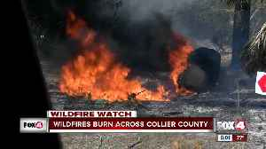 News video: Wildfires expand to 7,000 acres in Southwest Florida