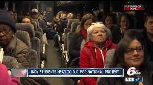 News video: 30 kids from central Indiana are headed for protest in Washington, DC