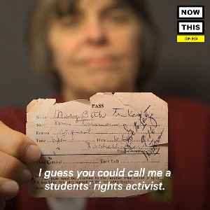 News video: Mary Beth Tinker Talks About Her Role in the History of Student Rights