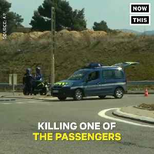 News video: Terrorist Steal Vehicle and Takes Hostages in Supermarket at France