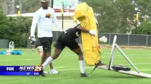 News video: Southern Miss spring football underway