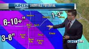 News video: The latest on the winter storm