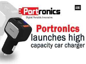 News video: Portronics launches high capacity car charger