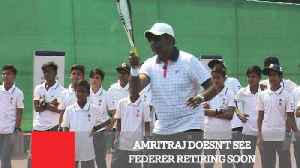News video: Amritraj Doesn't See Federer Retiring Soon