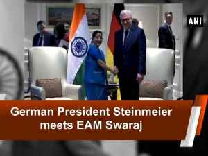 News video: German President Steinmeier meets EAM Swaraj
