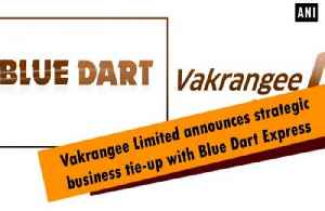 News video: Vakrangee Limited announces strategic business tie-up with Blue Dart Express
