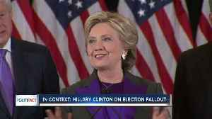 News video: In Context: Hillary Clinton on election fallout