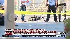 News video: Boy riding bike killed after being hit by SUV