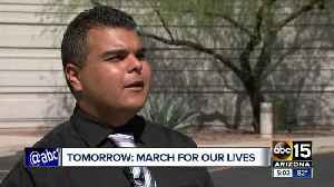 News video: Arizona students plan to gather at capitol Saturday for 'March for our Lives' event