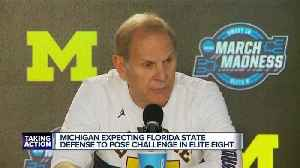 News video: Michigan expects FSU defense to pose challenge in Elite Eight