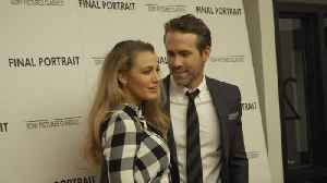 News video: Ryan Reynolds, Blake Lively attend Stanley Tucci's Final Portrait Movie Screening in NYC