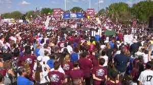 """News video: """"Today is just the beginning"""": Parkland students vow to keep fighting"""
