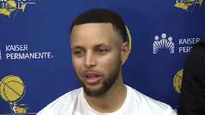 News video: Steph shares his thoughts on Quinn's recent performance & more after today's practice.