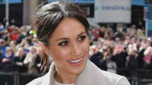 News video: Meghan Markle Brings Back Messy Bun For Surprise Visit to Ireland