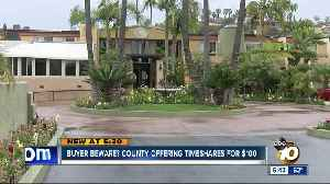 News video: Buyer beware: County offering timeshares for $100