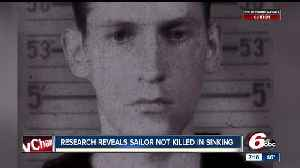 News video: Research reveals sailor not killed in sinking of USS Indianapolis
