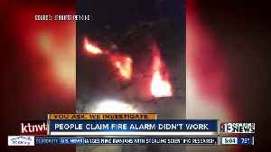 News video: Alarm questions swirl after fast-moving fire