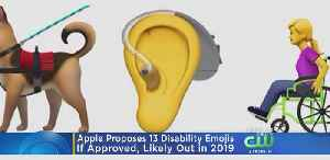 News video: From Service Dogs To A Prosthetic Arm, Apple Proposes 13 Disability Emojis
