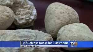 News video: Superintendent: School Shooters 'Will Be Stoned' By Students Armed With Buckets Of Rocks