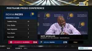 News video: Nate McMillan on Darren Collison: 'I thought he did a good job of establishing us'