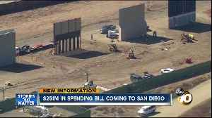 News video: San Diego getting $251 million for border in new spending bill