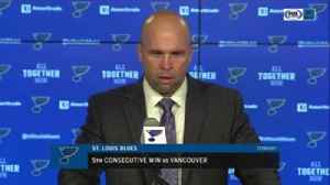News video: Mike Yeo on Patrik Berglund: 'He's slowly built more and more confidence in his game'
