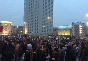 News video: Protests in Poland Over Proposals to Tighten Abortion Law
