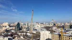 News video: Time runs out for unfinished TV tower