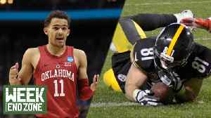 News video: NFL Updates Catch Rule Play, Should Draft Rankings Be Affected By March Madness Performance?   WEZ