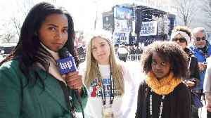 News video: From D.C. to Parkland: Two young girls brought together by gun violence