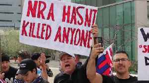 News video: Gun rights advocates hold counterprotest in Los Angeles