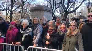 News video: Tens Of Thousands March At New York City Gun Protest