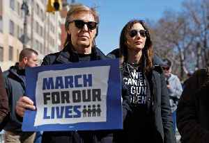 News video: Paul McCartney remembers John Lennon at March for Our Lives