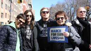 News video: Paul McCartney Joins The 'March For Our LIves' To Honor John Lennon