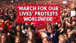 News video: 'March For Our Lives' Protests Around The Globe