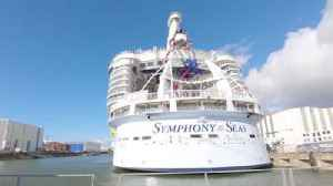 News video: Royal Caribbean Symphony of the Seas from construction to delivery