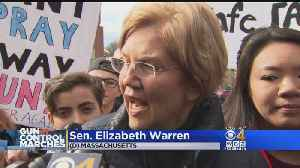 News video: Sen. Warren: March For Our Lives 'Is What Democracy Looks Like'