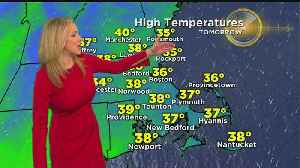 News video: WBZ Evening Forecast For March 24
