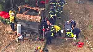 News video: East Bay Firefighters Rescue Man Who Fell Into a Well
