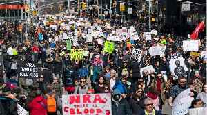 News video: 175K People Went New York City's 'March for Our Lives' Rally