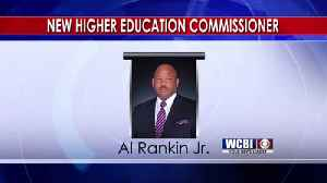 News video: First African-American named Higher Education Commissioner 3/23/18