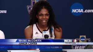 News video: TOM IN KC: Mississippi State Advances to Elite Eight in Kansas City Regional