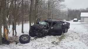 News video: One taken to hospital after Parke County vehicle accident
