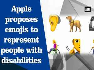 News video: Apple proposes emojis to represent people with disabilities