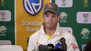 News video: Paine laments Australian capitulation in third test amid ball-tampering scandal
