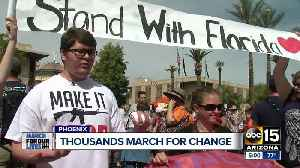 News video: Thousands participate in March For Our Lives event in Phoenix