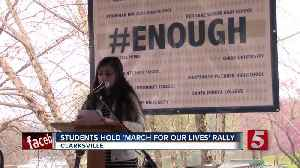 News video: Hundreds In Clarksville Push For Safer Schools
