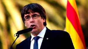 News video: Catalan ex-leader Puigdemont arrested in Germany