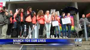 News video: Thousands take to the streets in the Eugene March for Our Lives
